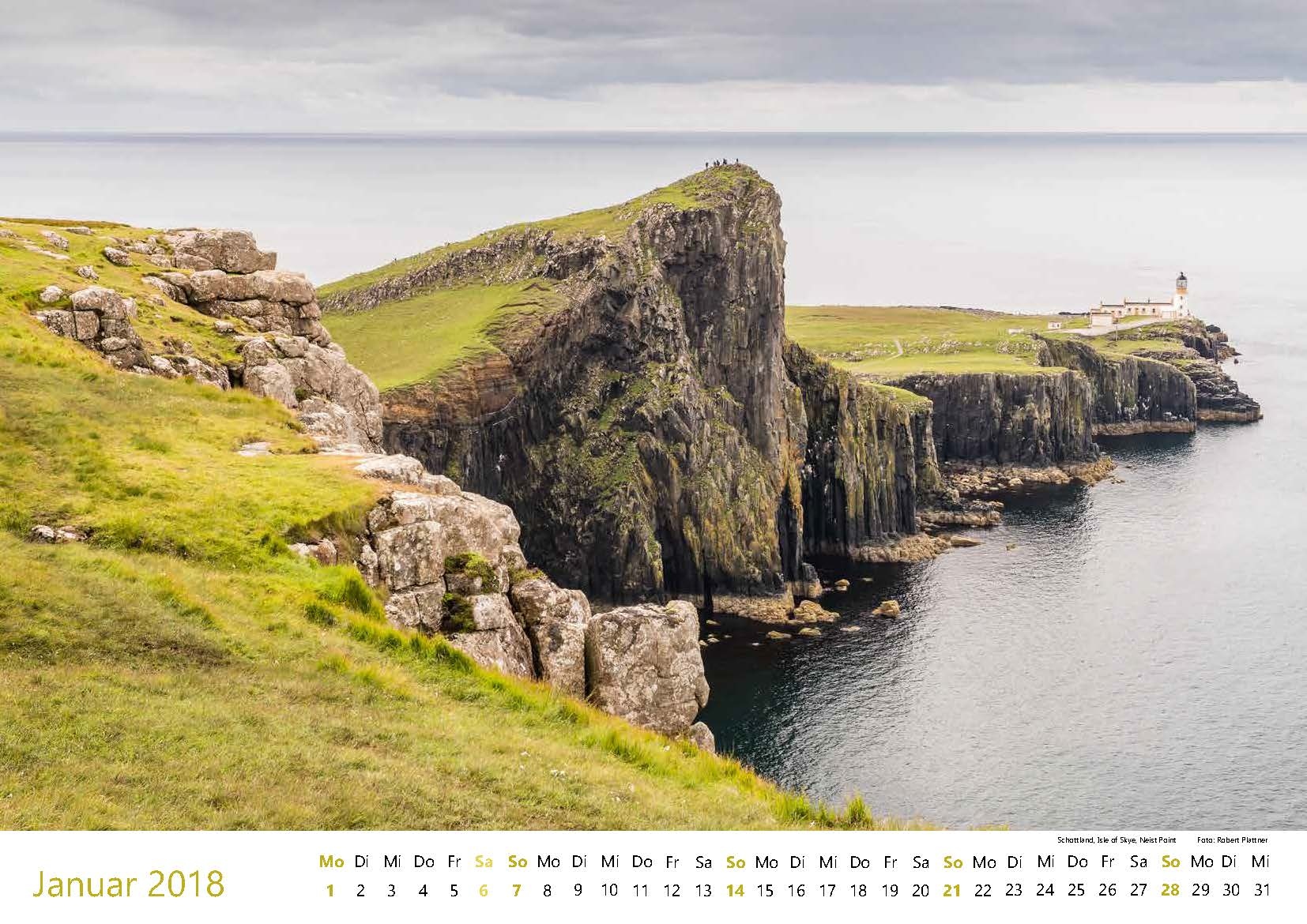 Schottland, Isle of Skye, Neist Point