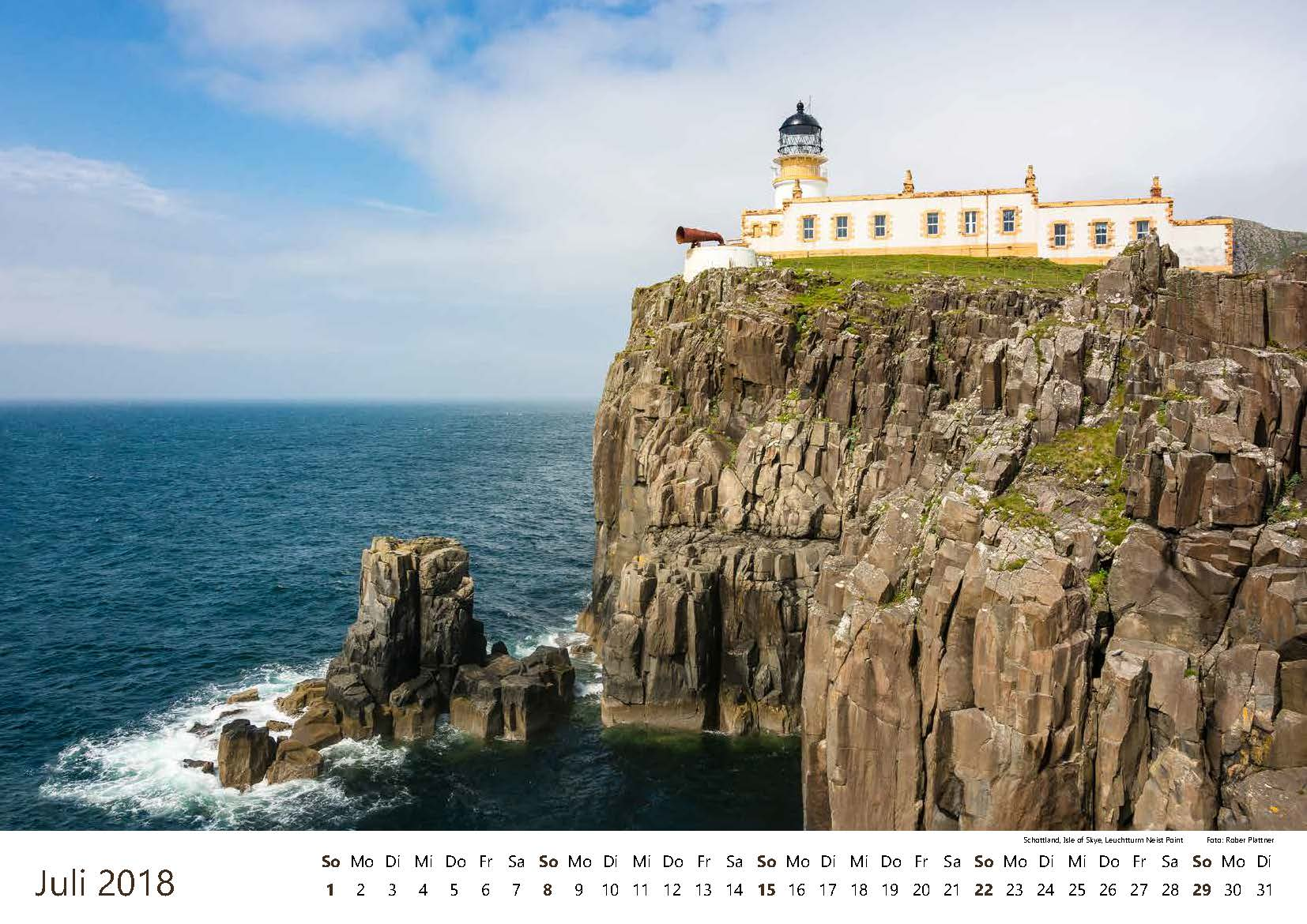 Schottland, Isle of Skye, Leuchtturm Neist Point