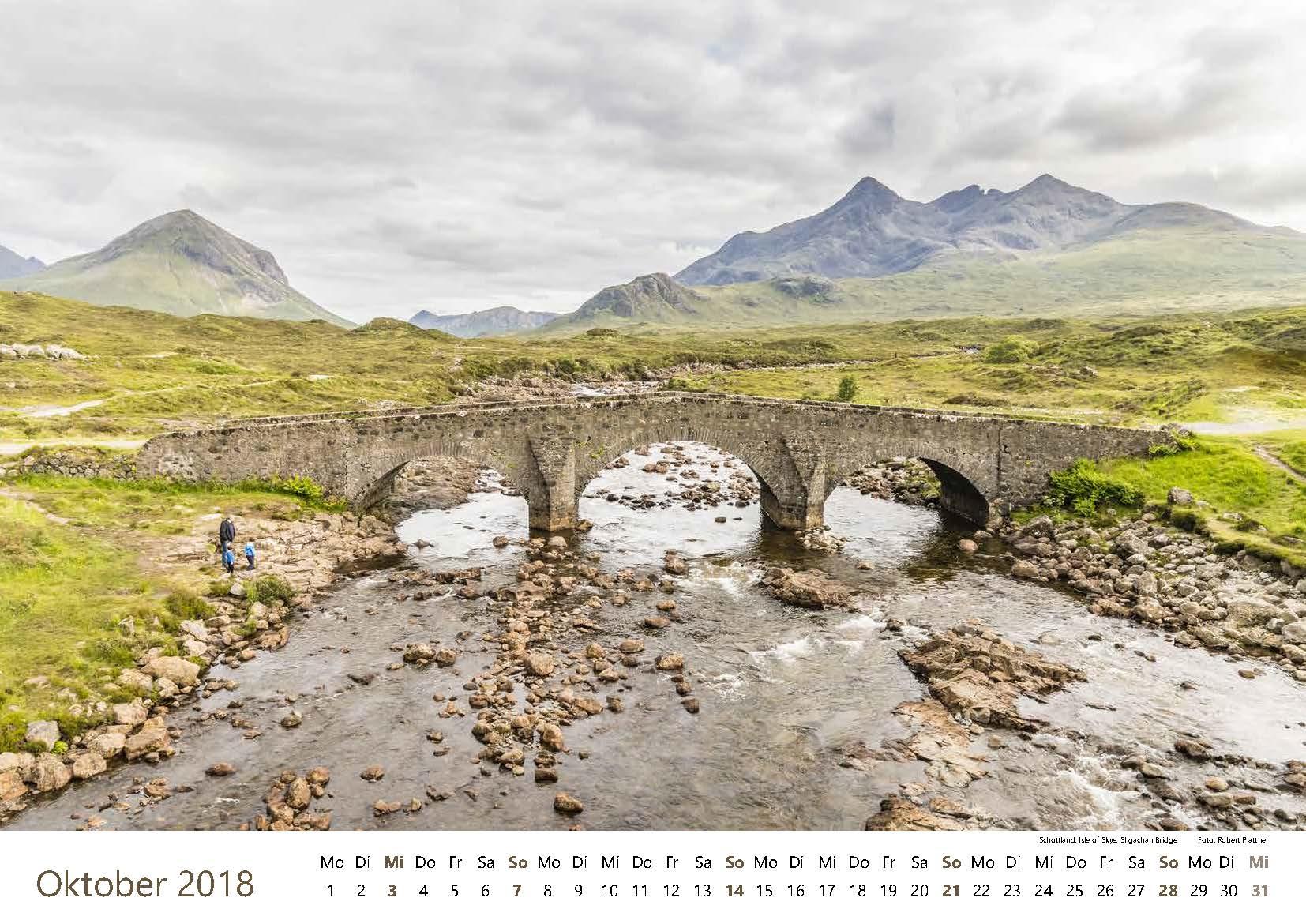 Schottland, Isle of Skye, Sligachan Bridge