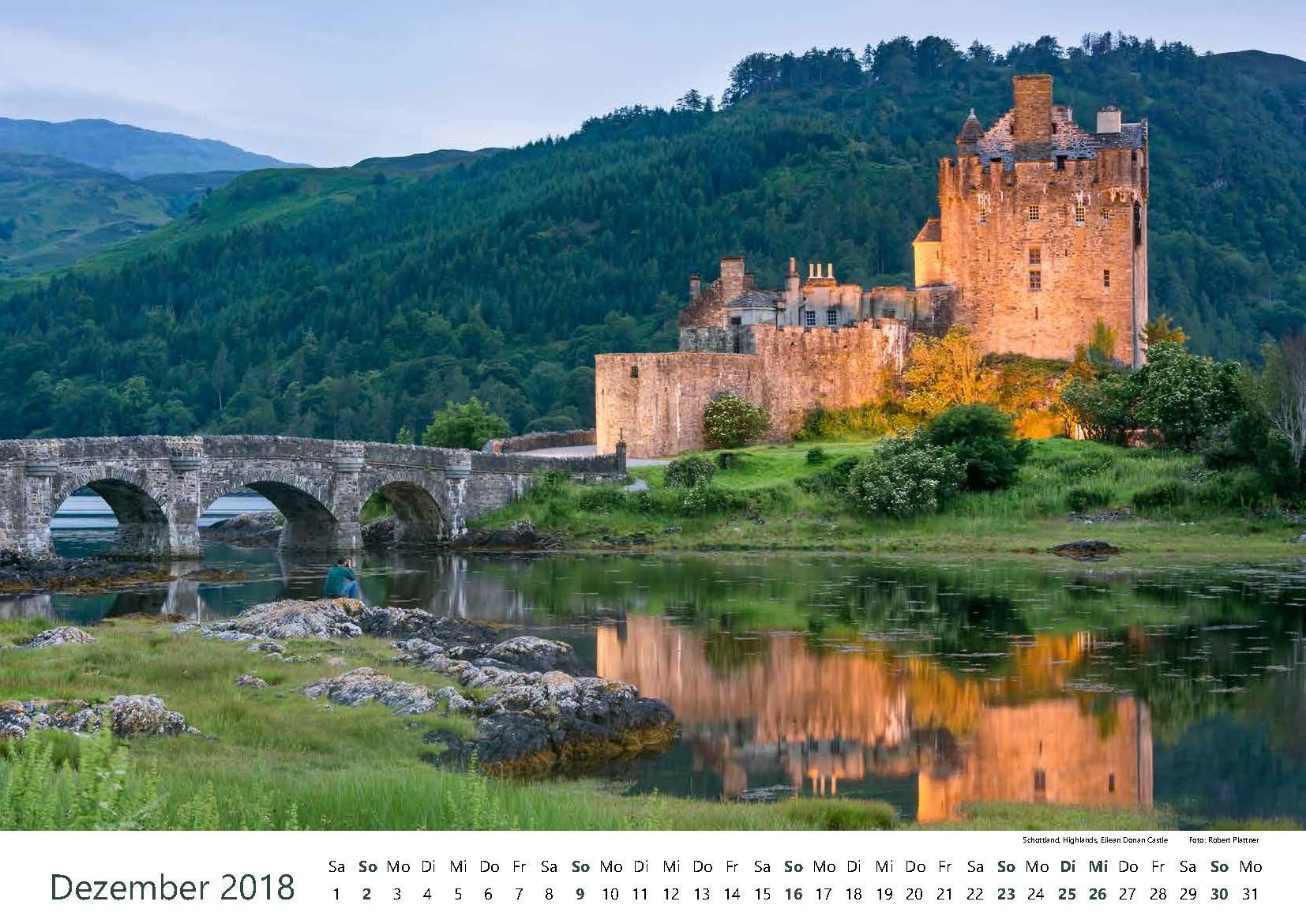 Schottland, Highlands, Eilean Donan Castle