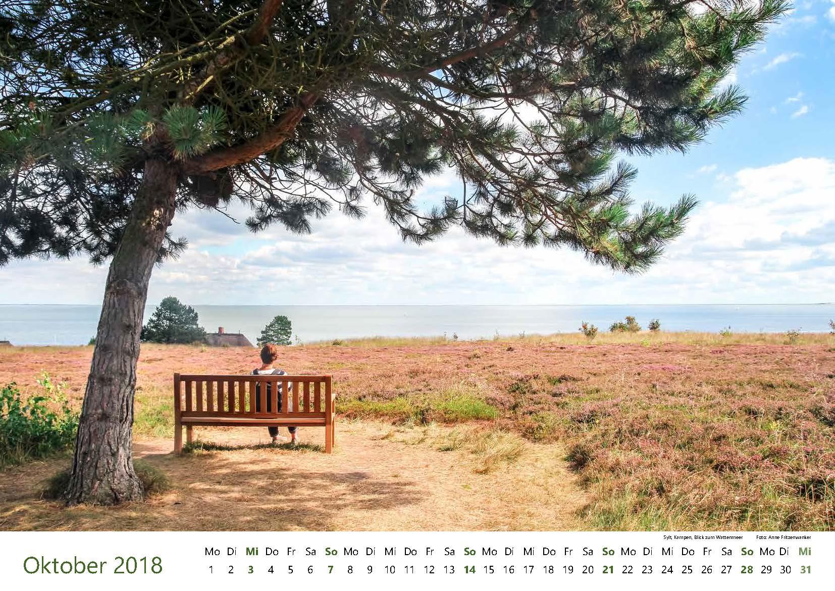 Sylt, Kampen, Blick zum Wattenmeer