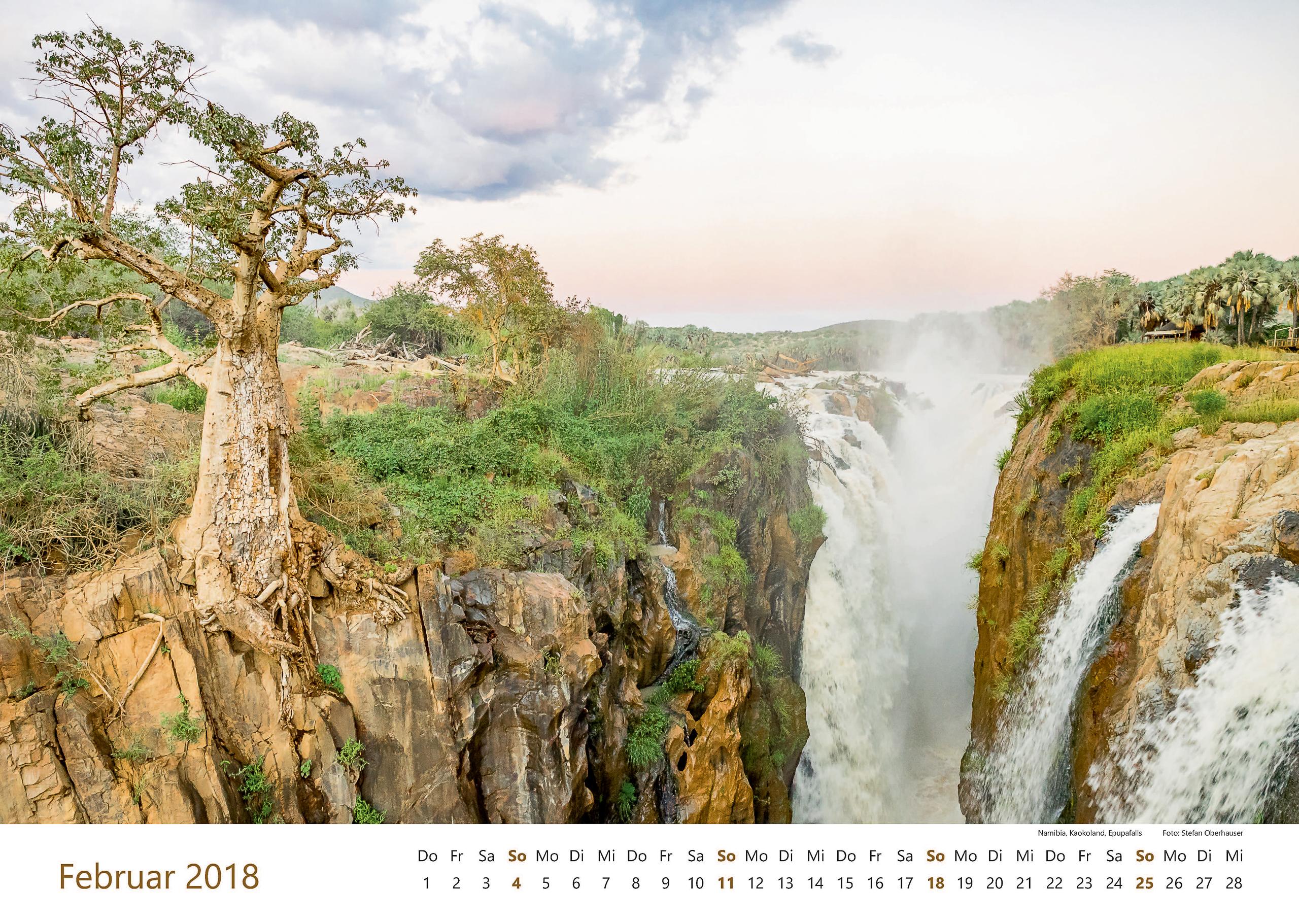 Namibia, Kaokoland, Epupafalls