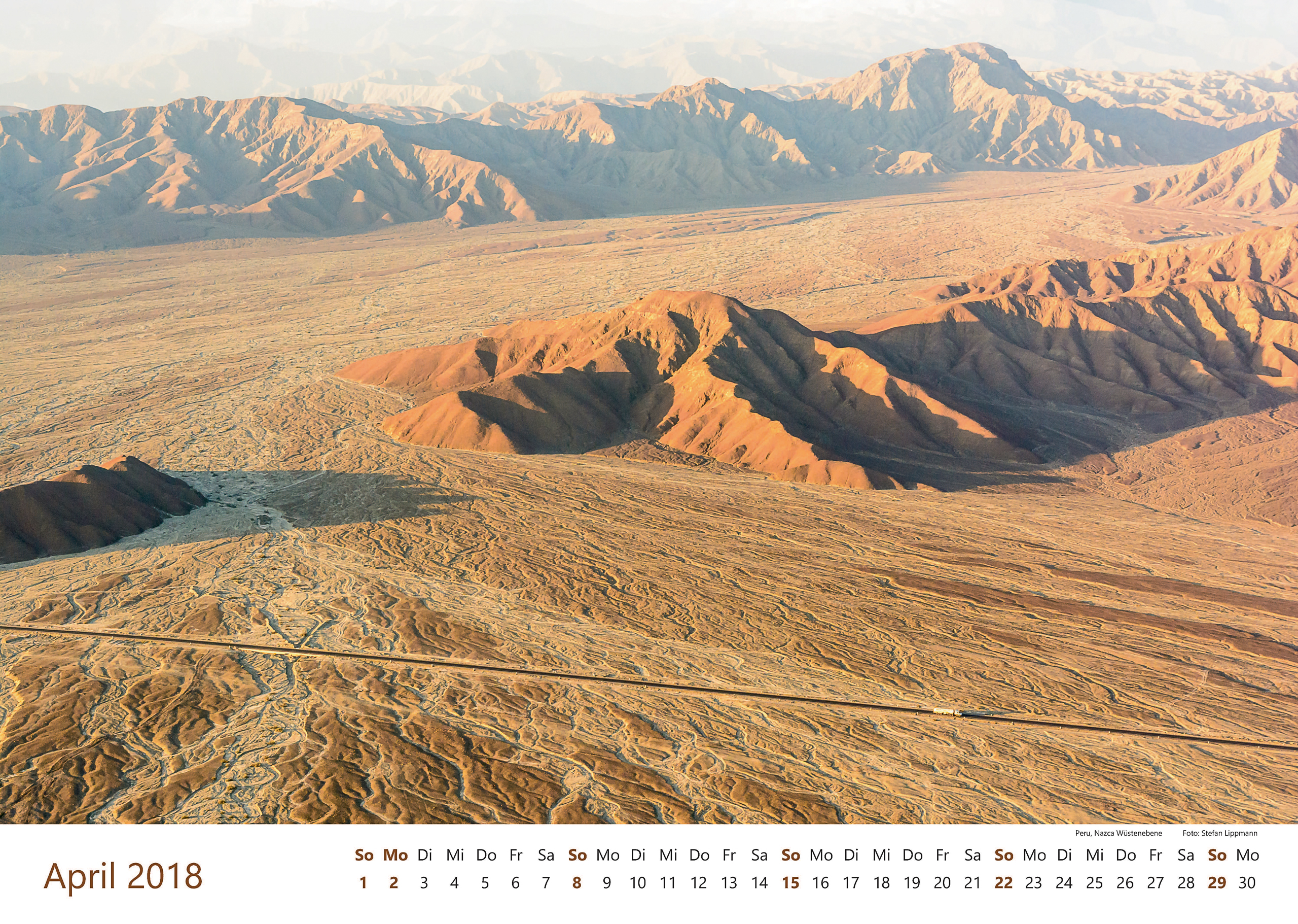 Peru, Nazca Wüstenebene