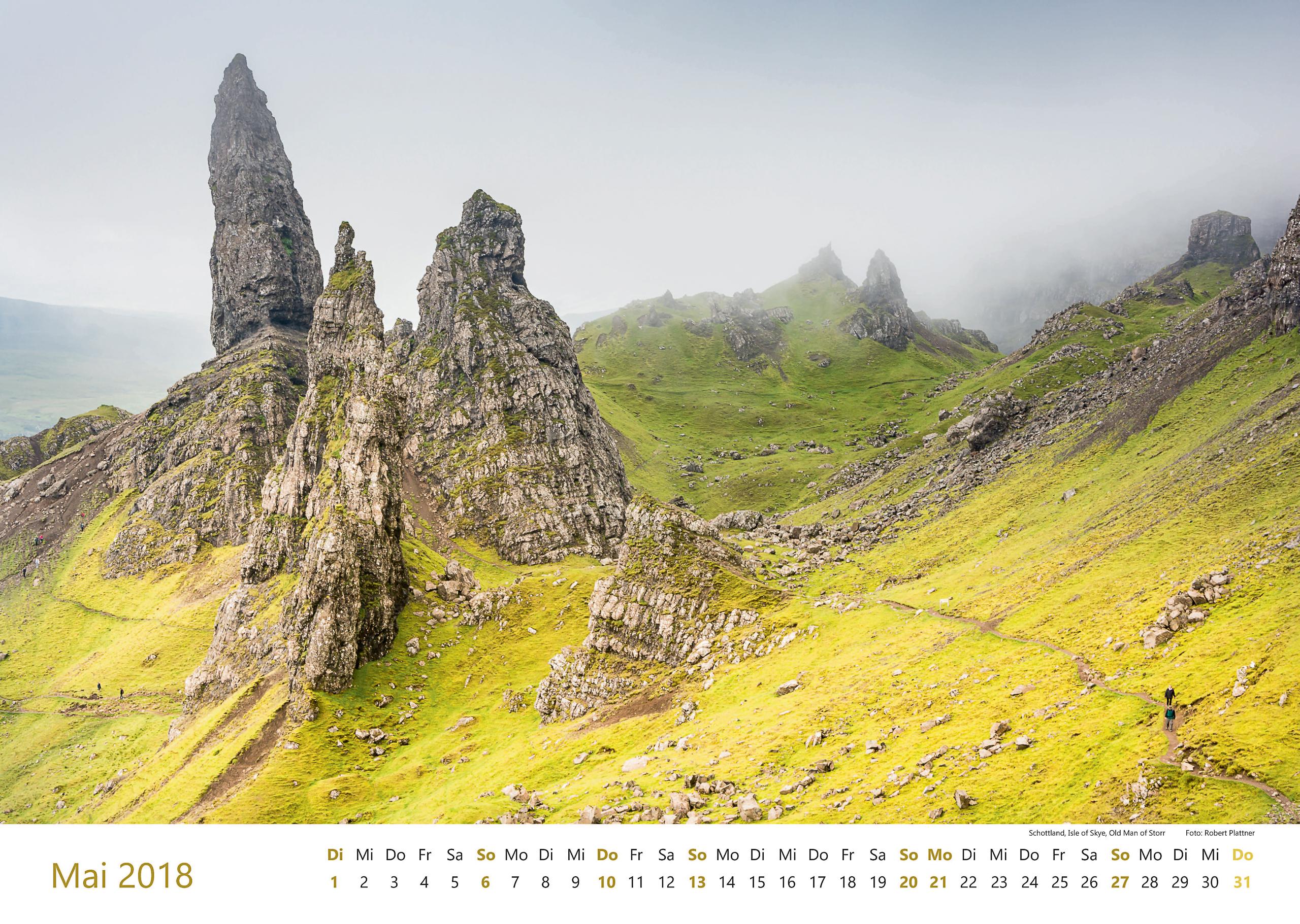 Schottland, Isle of Skye, Old Man of Storr