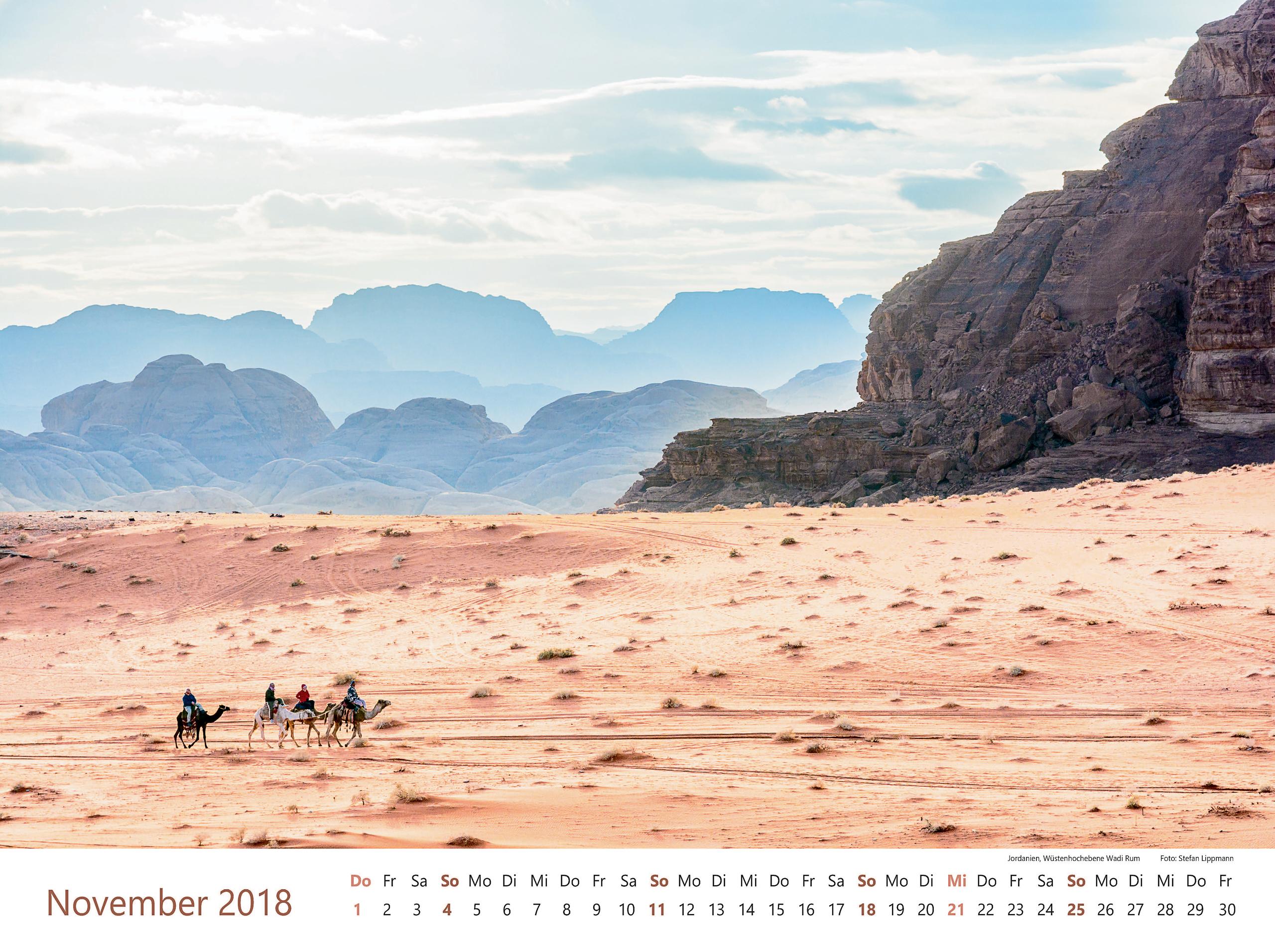 Jordanien, Wüstenhochebene Wadi Rum