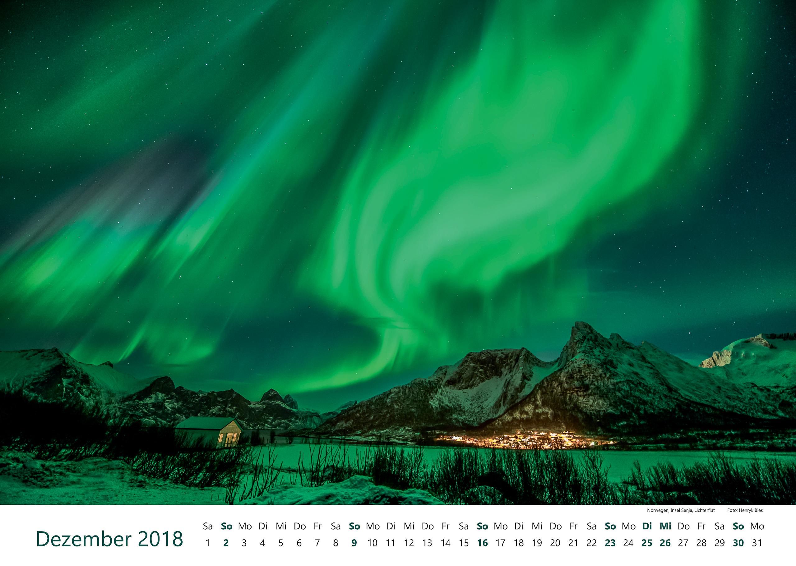 Norwegen, Insel Senja, Lichterflut