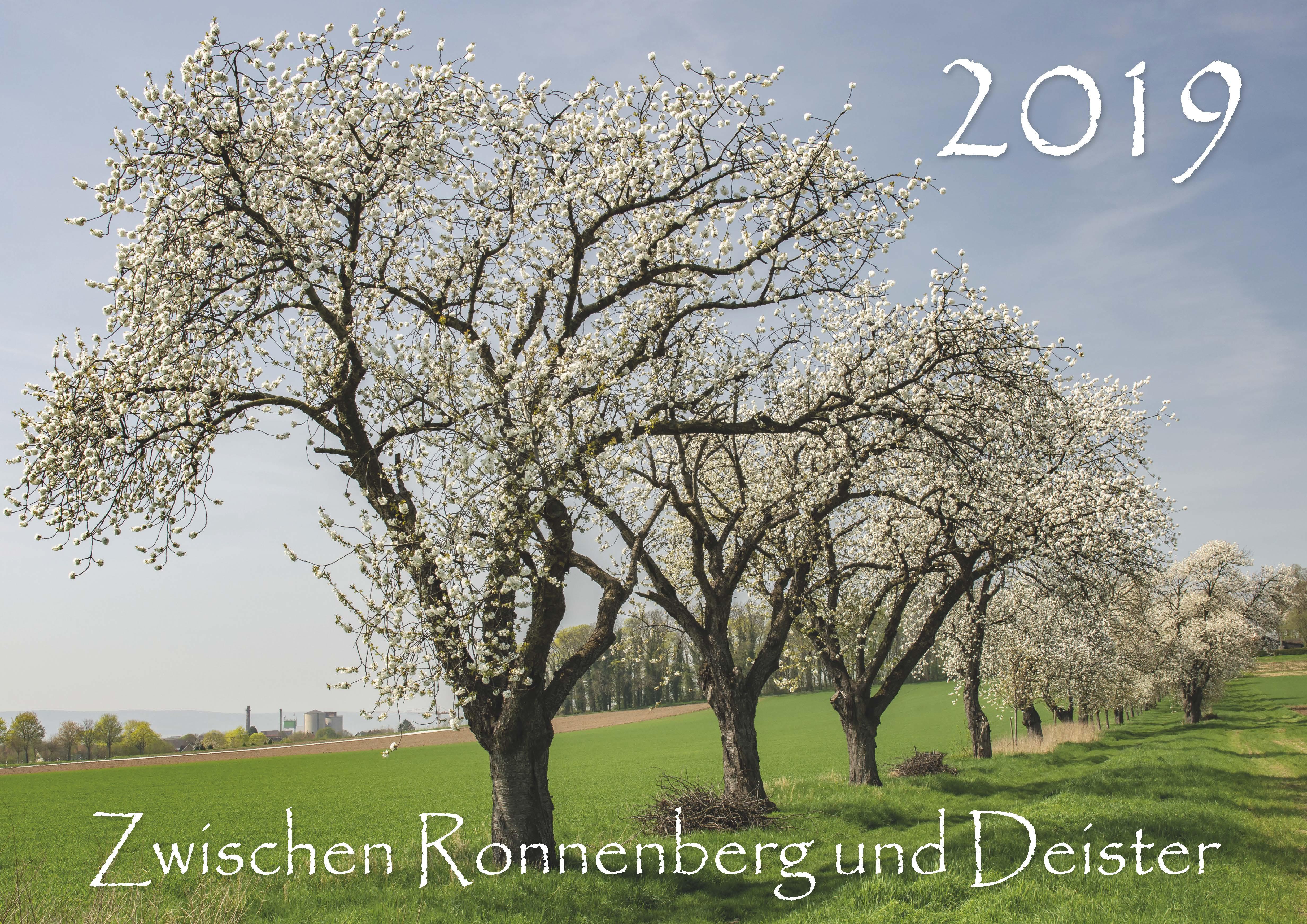 Kalender-2019-Zwischen-Ronnenberg-Deister- Robert-Plattner-Cover