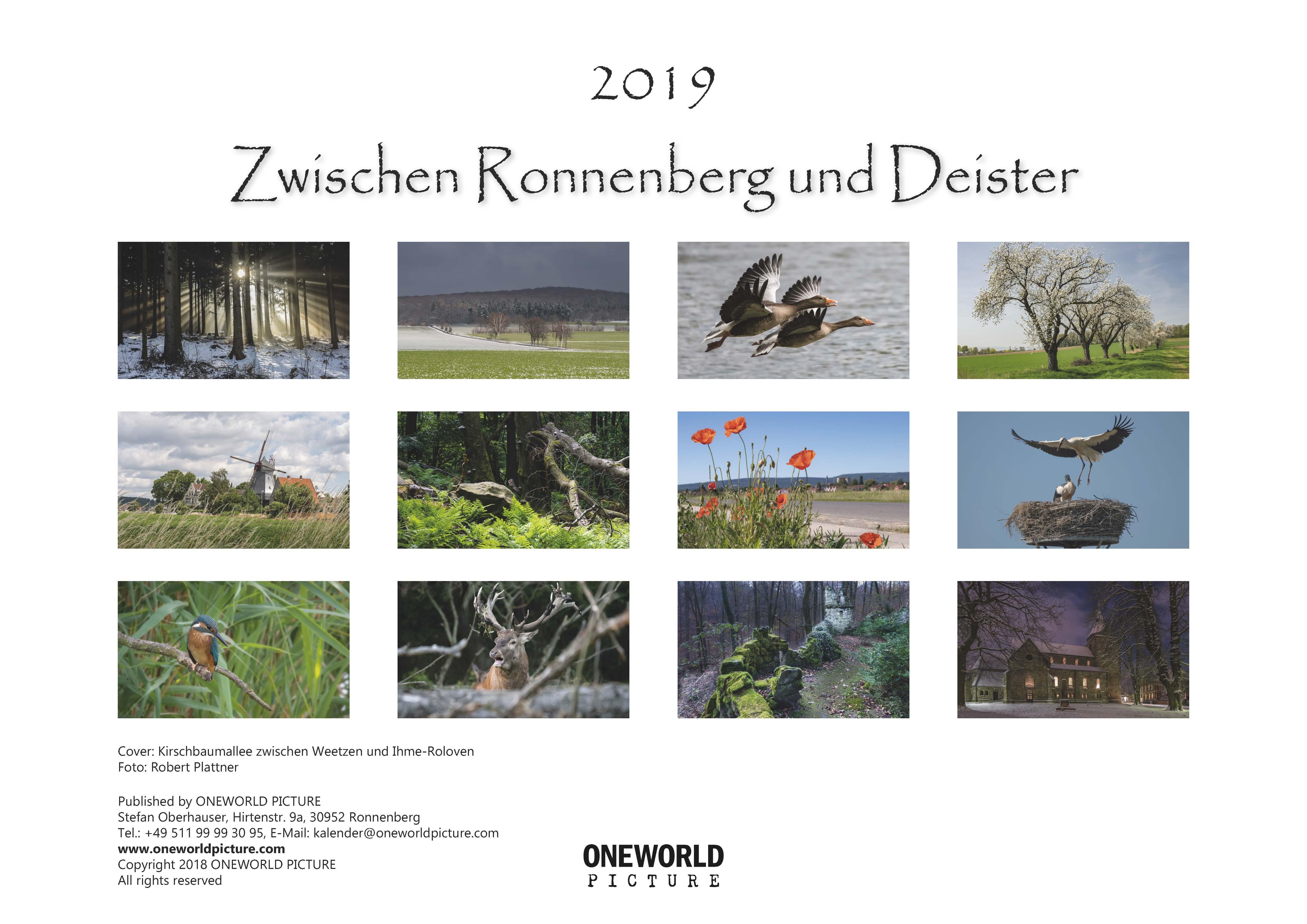 Kalender-2019-Zwischen-Ronnenberg-Deister- Robert-Plattner-Seite-13-Übersicht